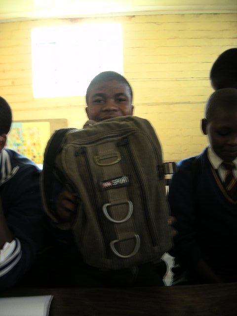 'The school-in-a-bag in Lesotho